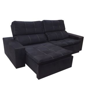 Sofa-Retratil-Reclinavel-Kairo-Sued-Preto-3-lugares