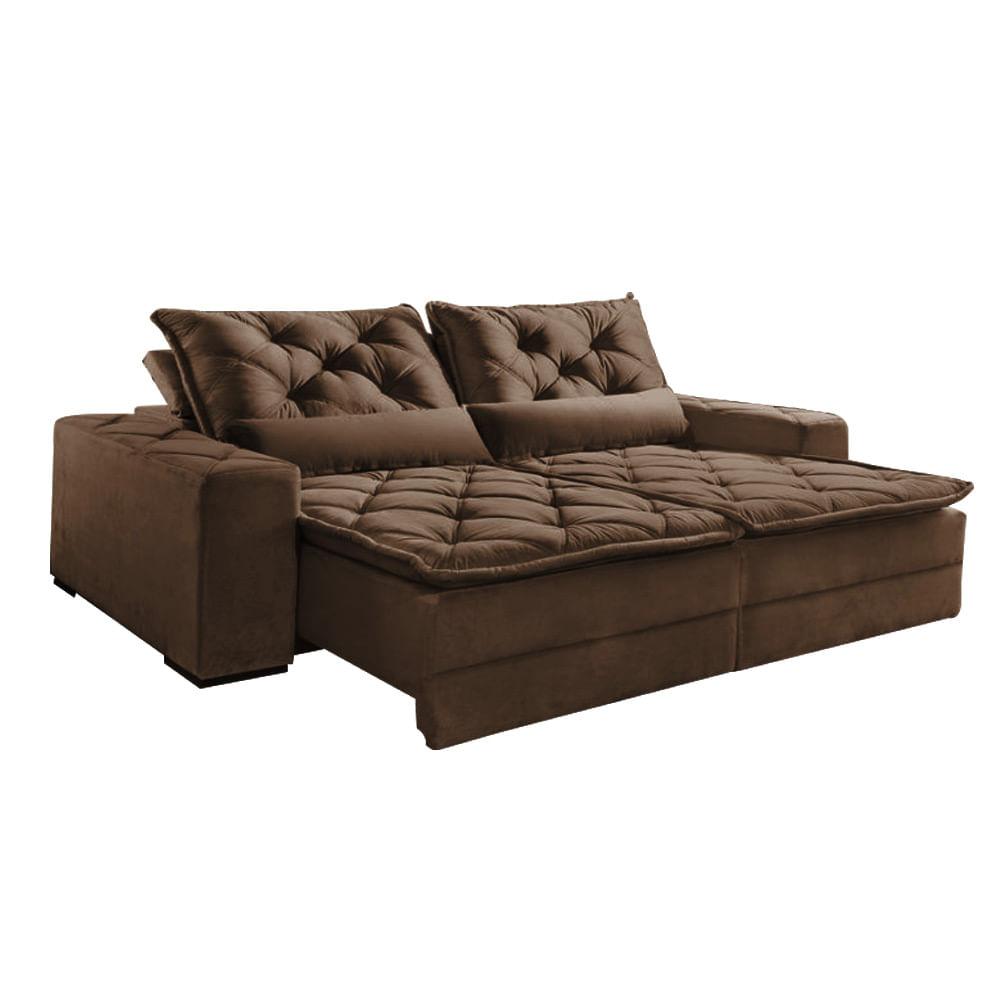 Sof rio de janeiro 3 lugares retr til e reclin vel for Divan cama completo
