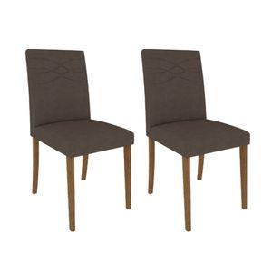 Cadeira-com-pes-de-Madeira-Marina-2-pecas---Chocolate---Savana