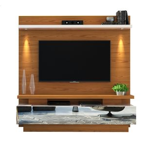 Home-Theater-com-LED-Citta-para-TV-de-ate-70-----Carvalho-Americano-com-Offwhite