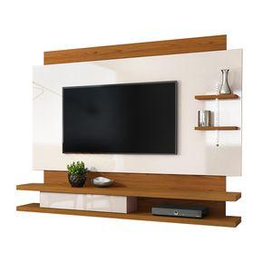 Home-Suspenso-Belano-para-TV-de-ate-65-----100--MDF-e-LED---Carvalho-Americano-com-Offwhite