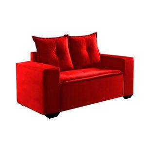 Sofa-Monaco---2-lugares---Cor-361---Vermelho